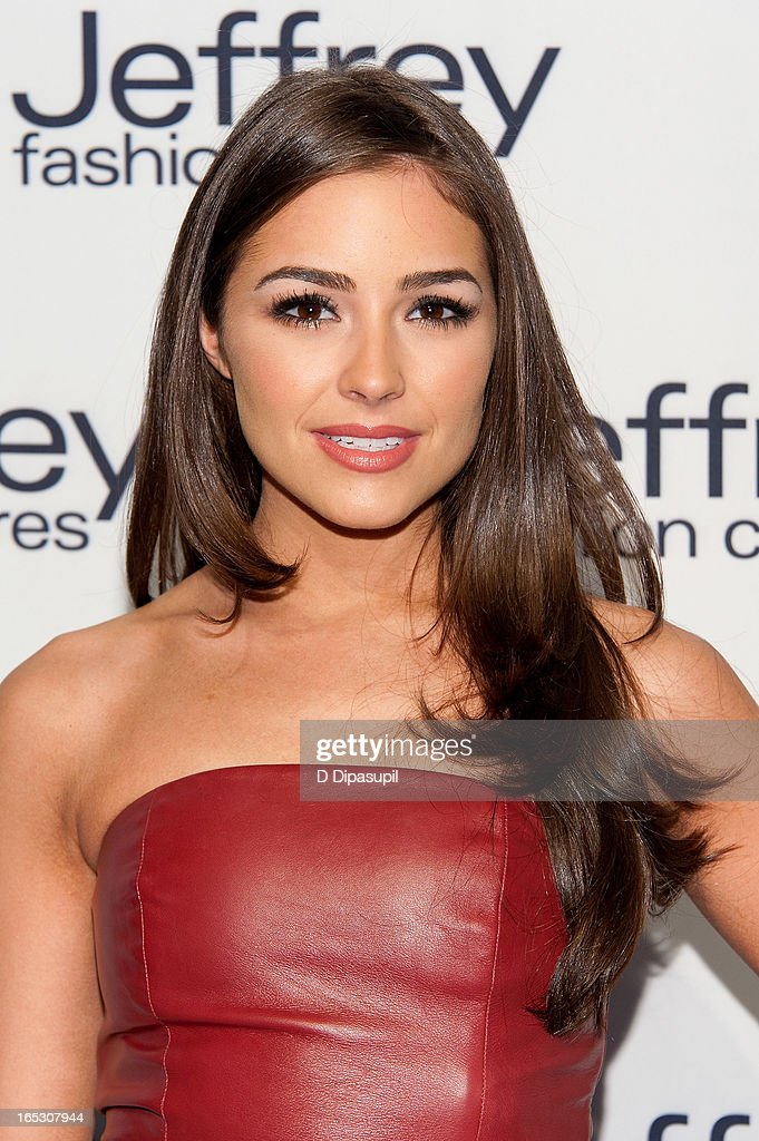Olivia Culpo attends the Jeffrey Fashion Cares 10th Anniversary Celebration at The Intrepid on April 2, 2013 in New York City.