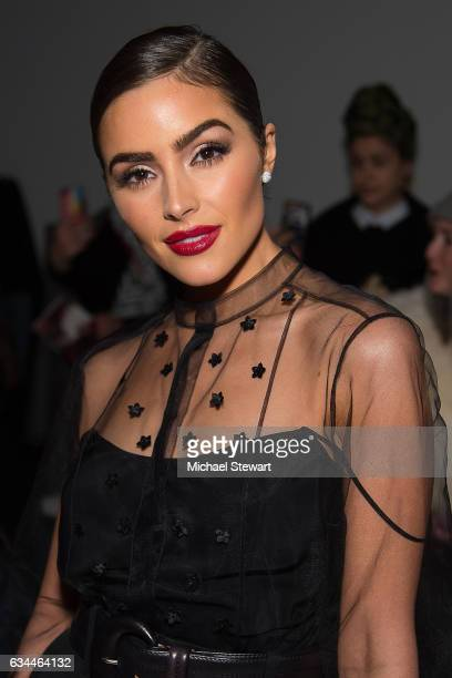 Olivia Culpo attends the Noon by Noor show during February 2017 New York Fashion Week The Shows at Gallery 3 Skylight Clarkson Sq on February 9 2017...