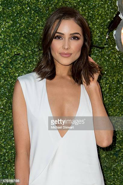 Olivia Culpo attends the Vanity Fair Guess Summer Kickoff Soiree at Jimmy at The James Hotel on June 9 2015 in New York City