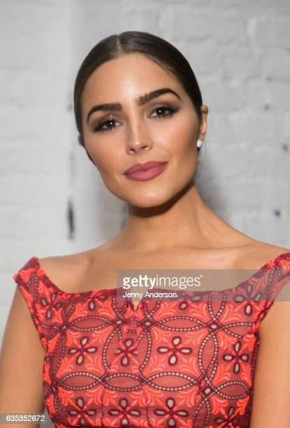 Olivia Culpo attends Zac Posen Exhibition during New York Fashion Week on February 14 2017 in New York City