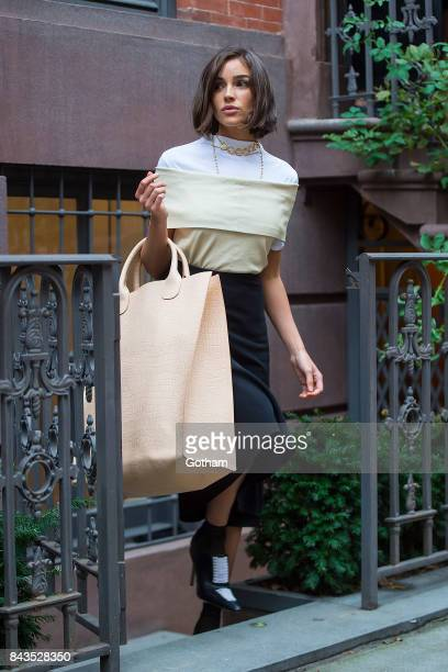 Olivia Culpo is seen in the West Village on September 6 2017 in New York City
