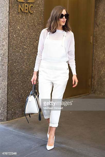 Olivia Culpo seen on the streets of Manhattan on June 11 2015 in New York City