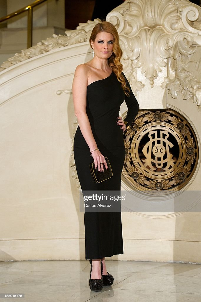 <a gi-track='captionPersonalityLinkClicked' href=/galleries/search?phrase=Olivia+de+Borbon&family=editorial&specificpeople=2558769 ng-click='$event.stopPropagation()'>Olivia de Borbon</a> attends the Ralph Lauren Dinner Charity Gala at the Casino de Madrid in on November 14, 2013 in Madrid, Spain.