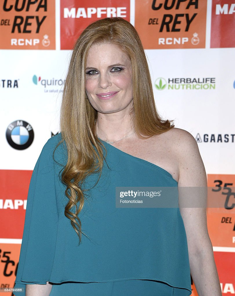 Olivia de Borbon attends the XXXV Copa del Rey Mapfre sailing trophy at Las Letras Hotel on May 25, 2016 in Madrid, Spain.