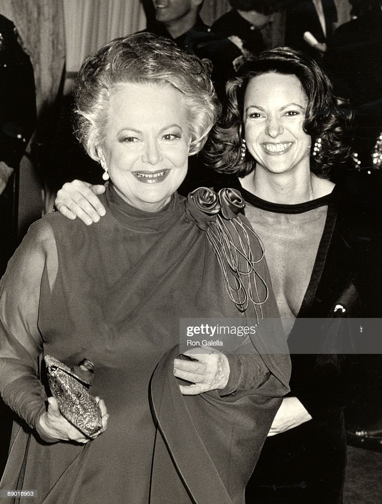 Olivia de Havilland and daughter Gisele Galante