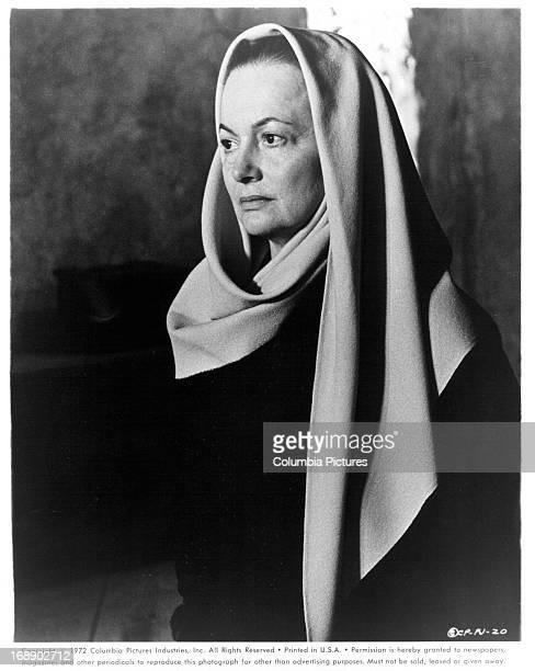 Olivia De Havilland in a scene from the film 'Pope Joan' 1972