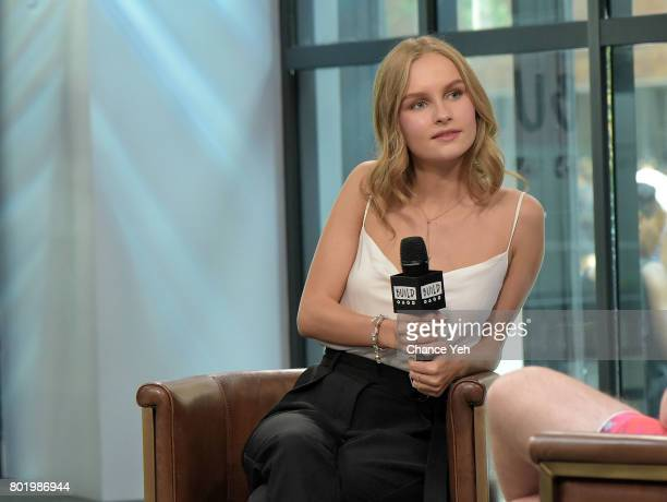 Olivia DeJonge attends Build series to discuss 'Will' at Build Studio on June 27 2017 in New York City