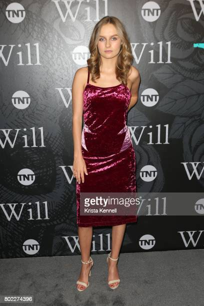 Olivia DeJonge attends TNT's 'Will' series premiere at Bryant Park on June 27 2017 in New York City