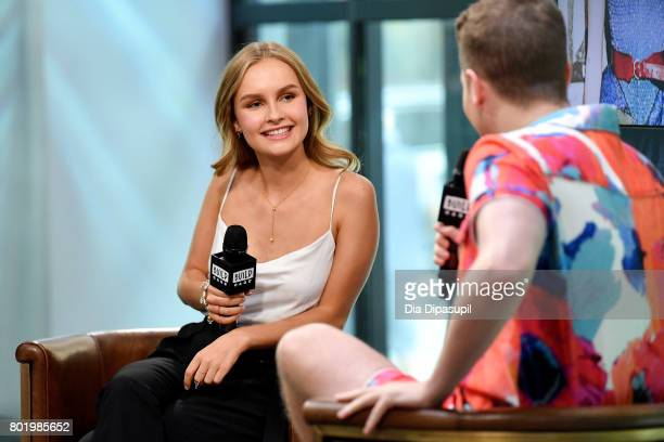 Olivia DeJonge visits Build to discuss 'Will' at Build Studio on June 27 2017 in New York City