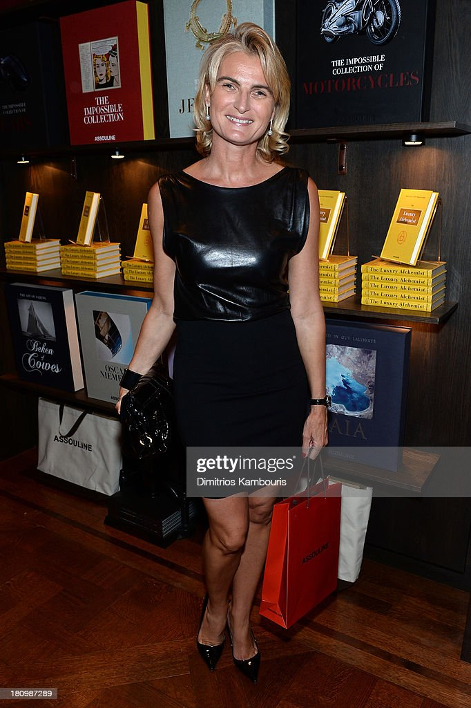 Olivia Flatto attends ASSOULINE, Martine and Prosper Assouline host a book signing for Ketty Pucci-Sisti Maisonrouge's 'The Luxury Alchemist' at Assouline at The Plaza Hotel on September 18, 2013 in New York City.