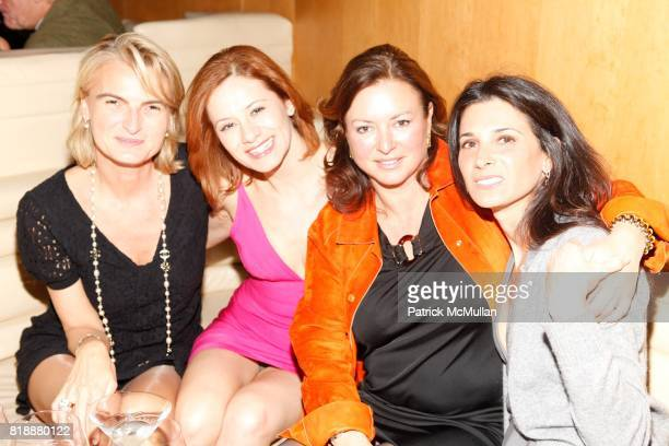 Olivia Flatto Nicoletta Giordani Barbara HemmerleGollust and Lauren McMahon attend Bruce Levingston on Top of The Standard A Premiere Commission Gala...