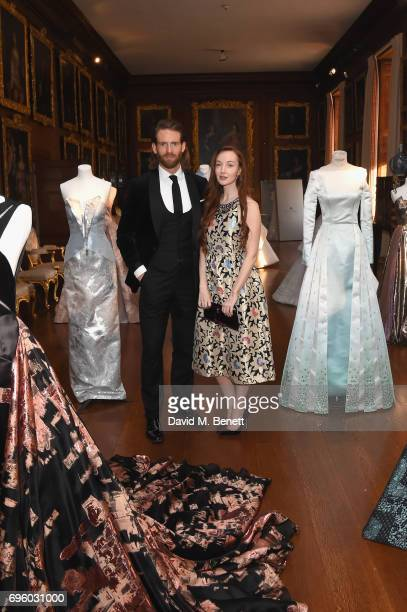 Olivia Grant and Craig McGinlay attend the Global Gift Gala for The Diana Award hosted by Earl Spencer at Althorp House on June 14 2017 in...