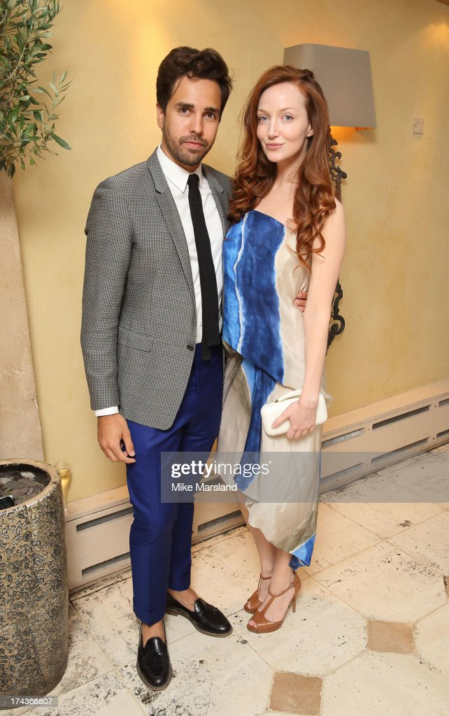 <a gi-track='captionPersonalityLinkClicked' href=/galleries/search?phrase=Olivia+Grant+-+Actress+-+Born+1983&family=editorial&specificpeople=604289 ng-click='$event.stopPropagation()'>Olivia Grant</a> and Diego Bivero-Volpe attend Daphne's evening of dinner & dancing at Daphne's on July 24, 2013 in London, England.