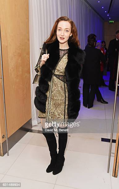 Olivia Grant attends a drinks reception ahead of the press night performance of The English National Ballet's 'Giselle' at St Martins Lane on January...
