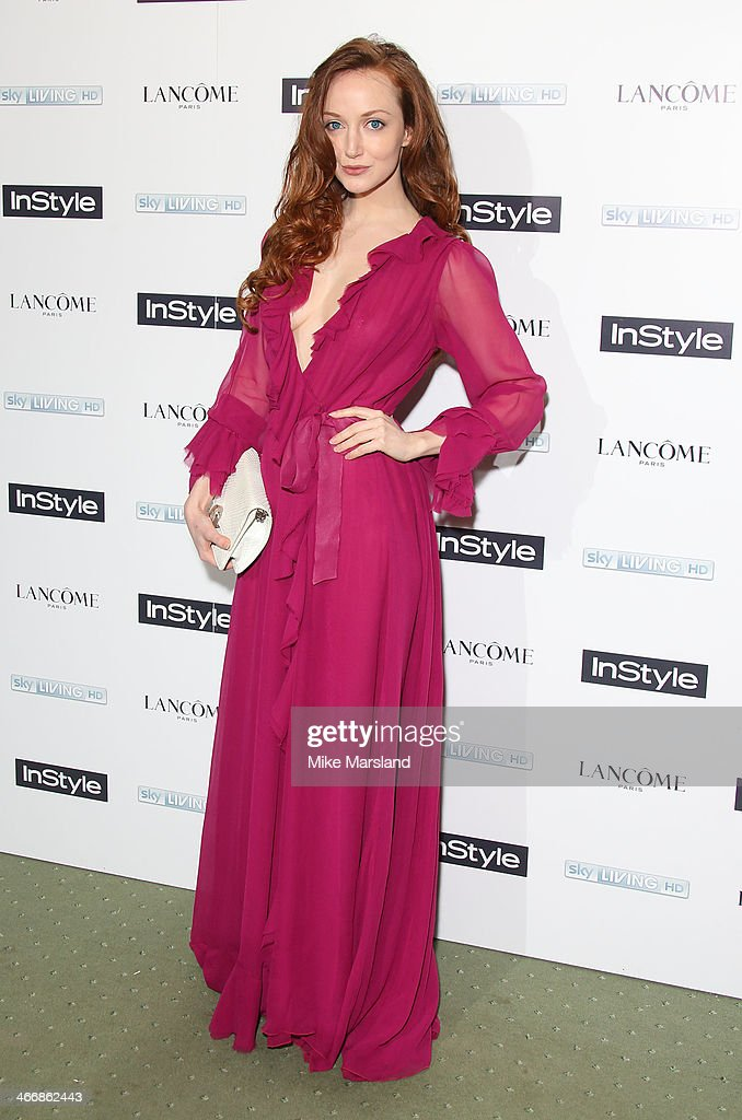 Olivia Grant attends InStyle magazine's The Best of British Talent pre-BAFTA party at Dartmouth House on February 4, 2014 in London, England.