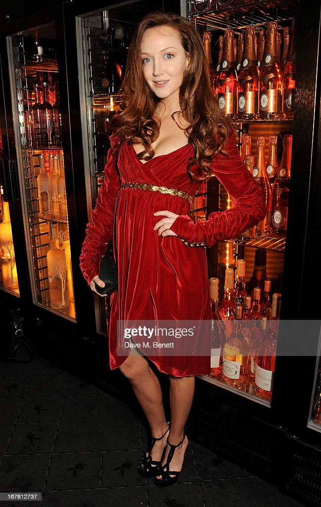 Olivia Grant attends the launch of Baroque's new cabaret show at the Mayfair nightspot Baroque, at Playboy Club London on April 30, 2013 in London, England.