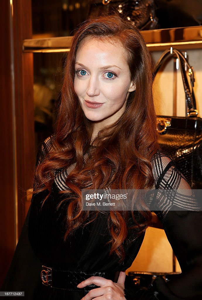 Olivia Grant attends the launch of the Salvatore Ferragamo London Flagship Store on Old Bond Street on December 5, 2012 in London, England.