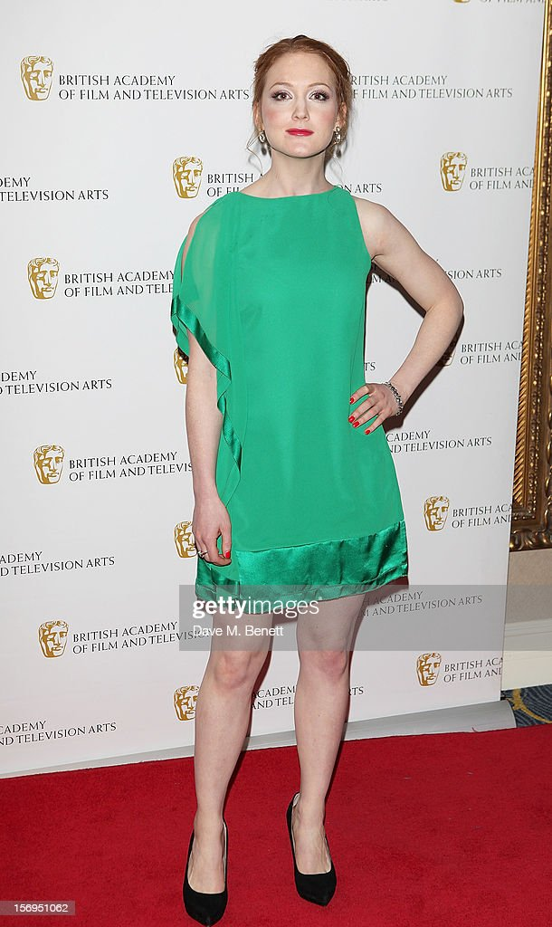 Olivia Hallinan arrives at the British Academy Children's Awards at the London Hilton on November 25, 2012 in London, England.