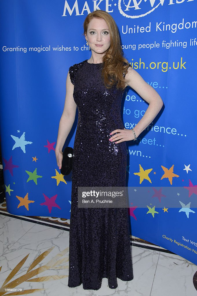 Olivia Hallinan attends Make-A-Wish Foundation UK Winter Ball 2012 held at The Dorchester on November 24, 2012 in London, England.