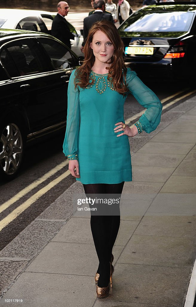 Olivia Hallinan attends the English National Ballet 60th Anniversary party at the Dorchester Hotel on June 15, 2010 in London, England.