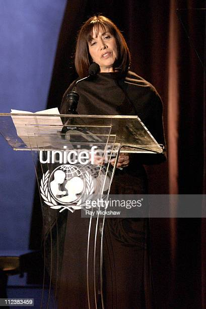 Olivia Harrison during UNICEF Goodwill Gala Celebrating 50 Years of Celebrity Goodwill Ambassadors Show at The Beverly Hilton in Beverly Hills...