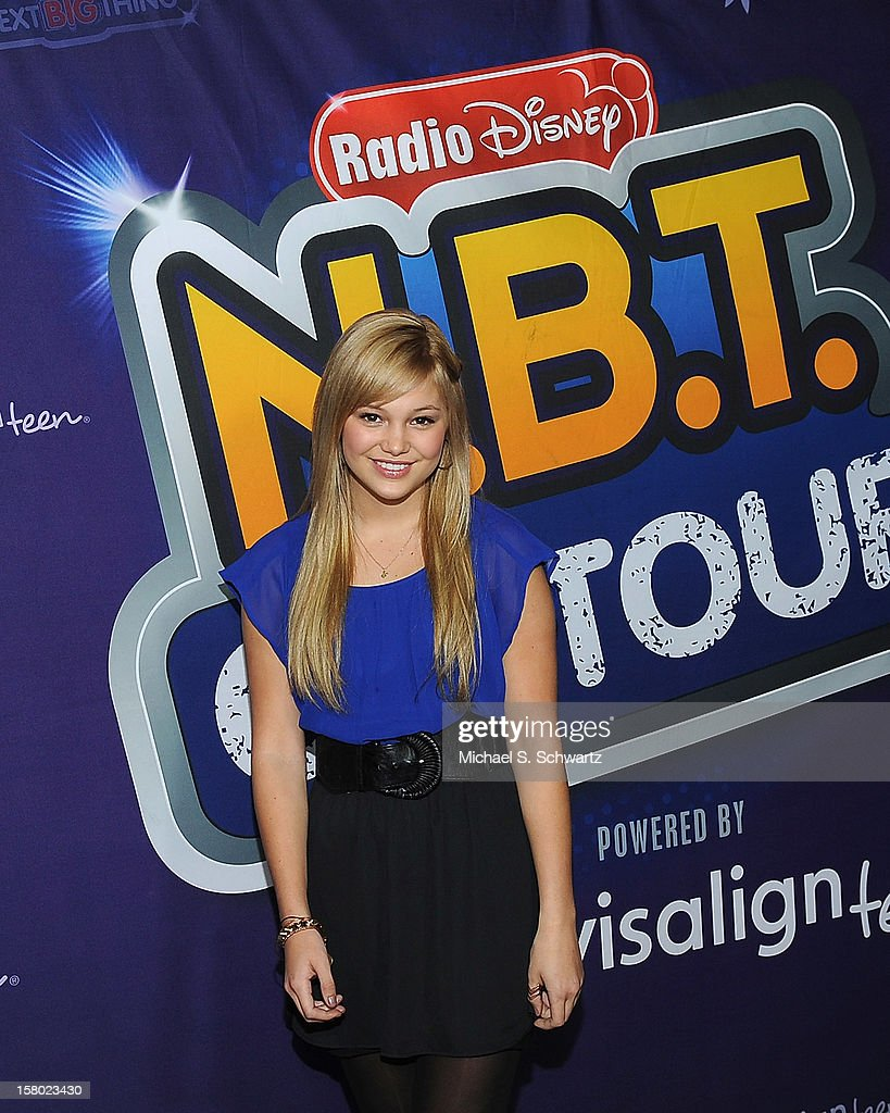 Olivia Holt arrives at the Radio Disney's 'N.B.T.' (Next BIG Thing) Season 5 winner and finale event at The Americana at Brand on December 8, 2012 in Glendale, California.
