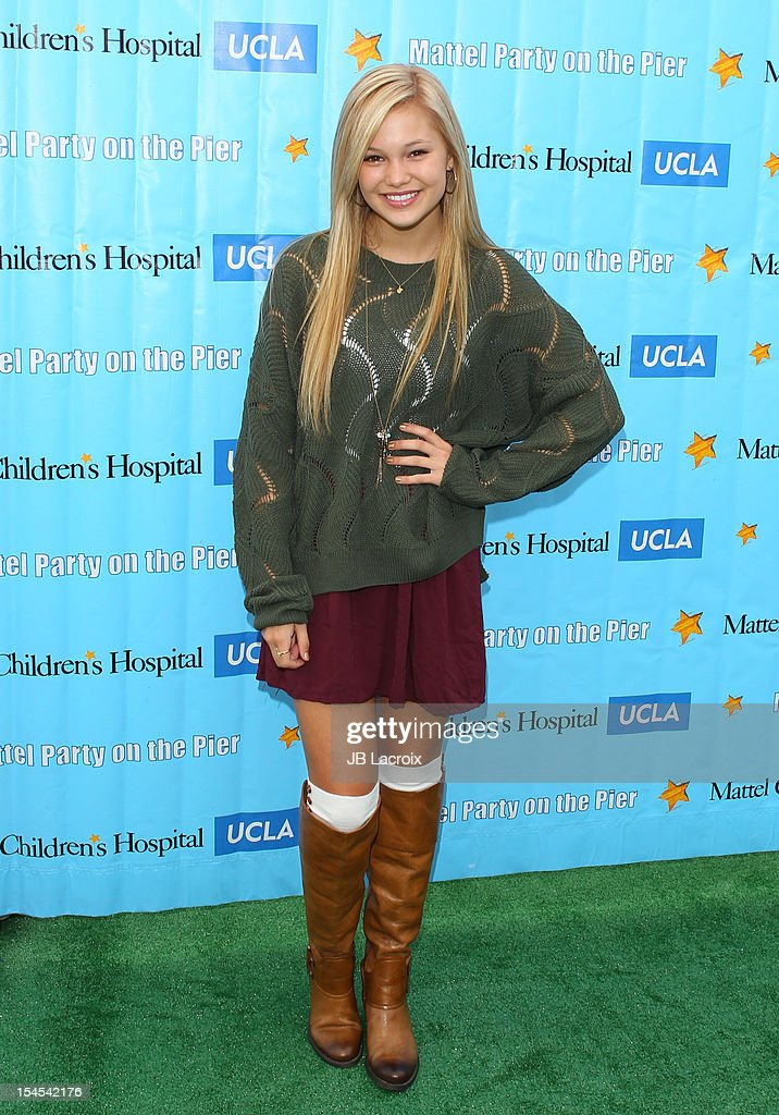 Olivia Holt attends the Mattel Party On The Pier Benefiting Mattel Children's Hospital UCLA at Pacific Park ? Santa Monica Pier on October 21, 2012 in Santa Monica, California.