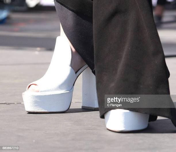Olivia Holt shoe detail attends 1027 KIIS FM's 2017 Wango Tango at StubHub Center on May 13 2017 in Carson California