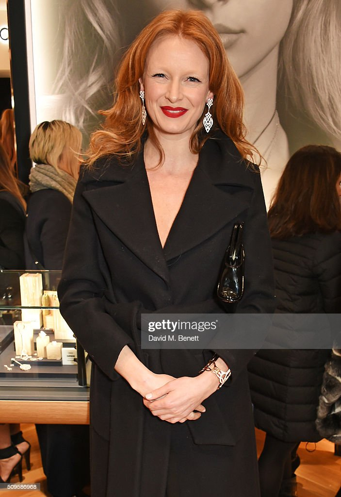 Olivia Inge attends the APM Monaco flagship store opening on South Molton Street on February 11, 2016 in London, England.