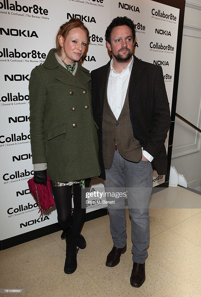 Olivia Inge attends the Collabor8te Connected by NOKIA Premiere at Regent Street Cinema on February 12, 2013 in London, England.