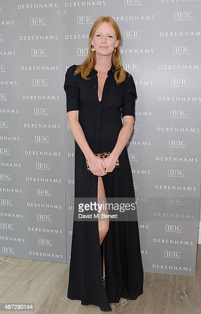 Olivia Inge attends the Nine by Savannah Miller for Debenhams Launch Party at The Roof Terrace Ham Yard Hotel on September 8 2015 in London England