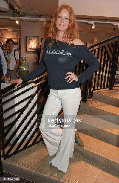 Olivia Inge attends the Perfect Ten Exhibition in association with Tanqueray No TEN at Harvey Nichols on June 1 2017 in London England