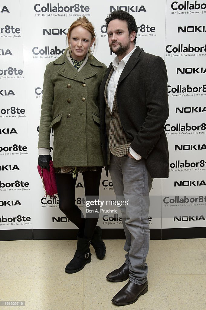 Olivia Inge attends the premiere of Rankin's Collabor8te connected by NOKIA at Regent Street Cinema on February 12, 2013 in London, England.