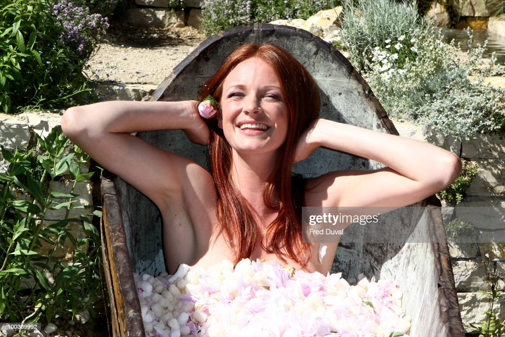 Olivia Inge attends the Press & VIP preview of The Chelsea Flower Show at Royal Hospital Chelsea on May 24, 2010 in London, England.