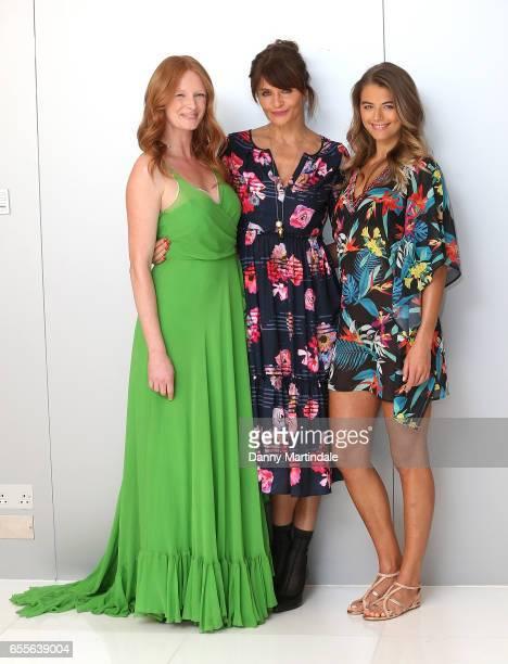 Olivia Inge Helena Christensen and Arabella Chi attend Debenhams hosts Summer 17 Salon Show with global supermodel Helena Christensen alongside...