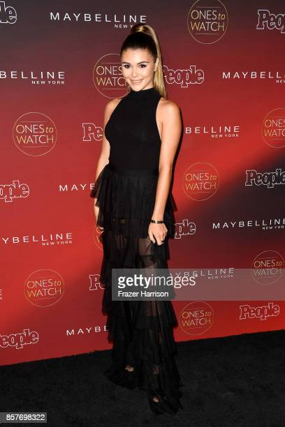 Olivia Jade attends People's 'Ones To Watch' at NeueHouse Hollywood on October 4 2017 in Los Angeles California