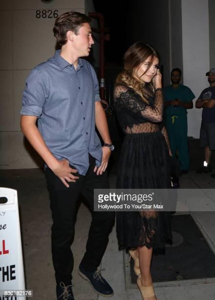 Olivia Jade is seen on August 10 2017 in Los Angeles CA