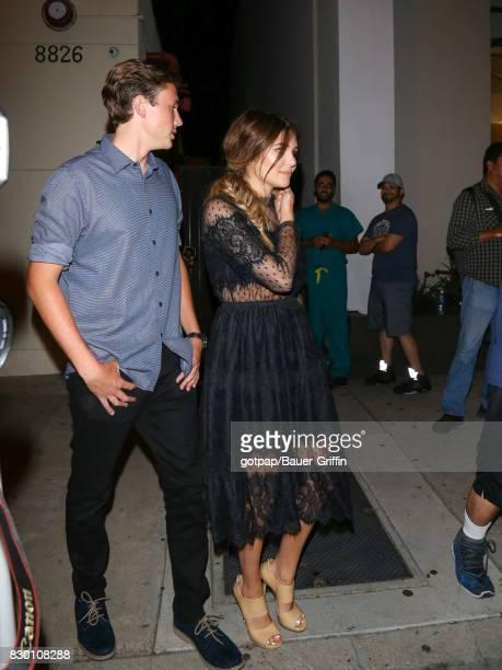 Olivia Jade is seen on August 10 2017 in Los Angeles California