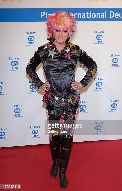 Olivia Jones attends 25 Years Plan International Germany ceremony at Fischauktionshalle on March 1 2014 in Hamburg Germany