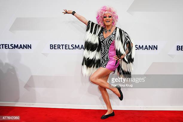 Olivia Jones attends the Bertelsmann Summer Party on June 18 2015 in Berlin Germany