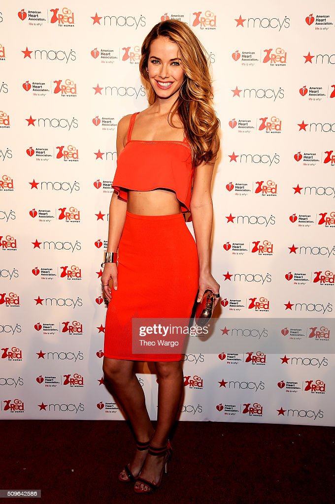 <a gi-track='captionPersonalityLinkClicked' href=/galleries/search?phrase=Olivia+Jordan&family=editorial&specificpeople=9445833 ng-click='$event.stopPropagation()'>Olivia Jordan</a> attends The American Heart Association's Go Red For Women Red Dress Collection 2016 Presented By Macy's at The Arc, Skylight at Moynihan Station on February 11, 2016 in New York City.