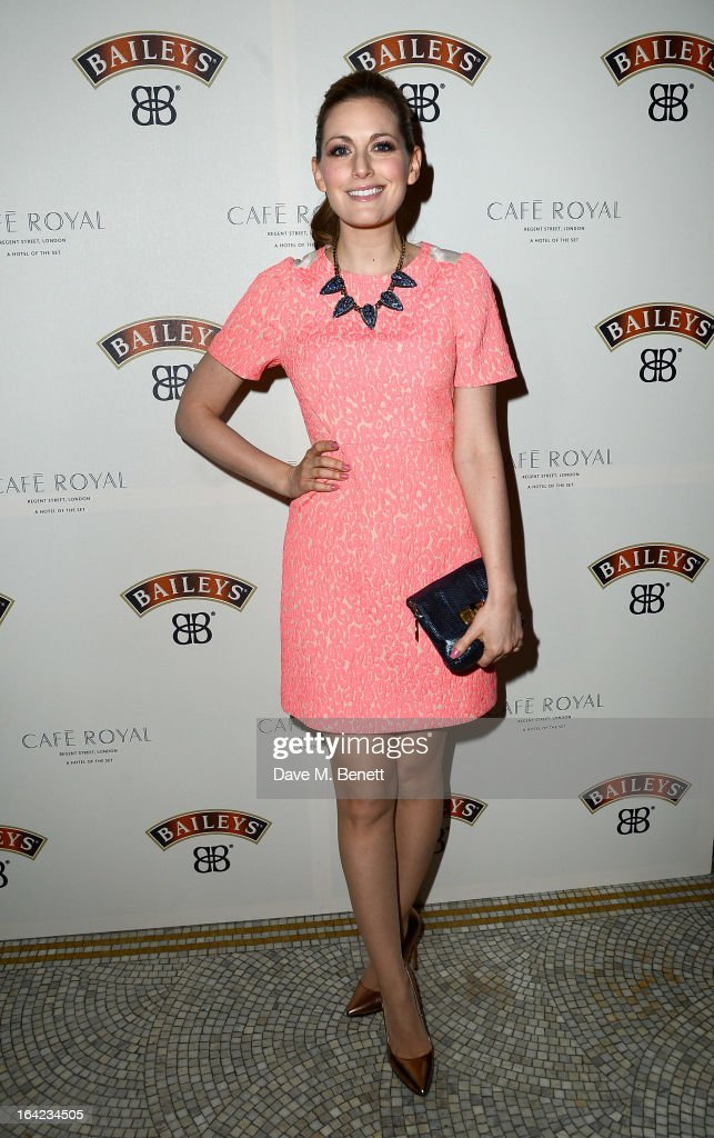 Olivia Lee arrives at the launch of Baileys new sleek bottle design at the Cafe Royal hotel on March 21, 2013 in London, England.