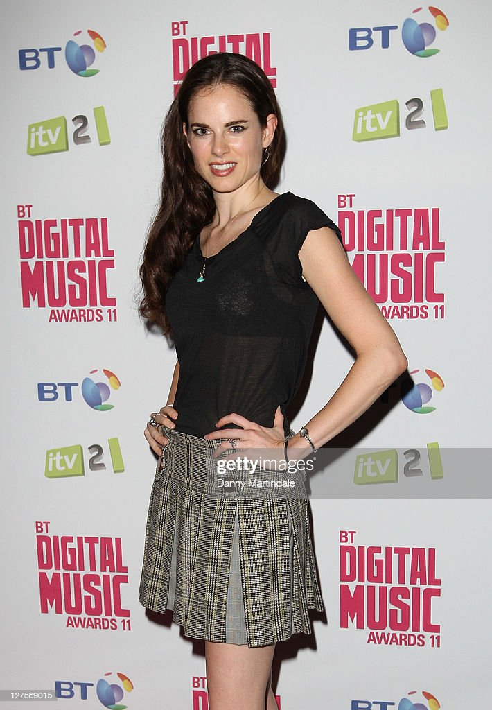 Olivia Lee attends BT Digital Music Awards at The Roundhouse on September 29, 2011 in London, England.