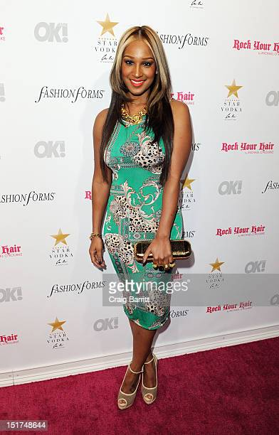 Olivia Longott attends the Ok Magazine's 5th Annual Fashion Week Celebration at Cielo on September 10 2012 in New York City