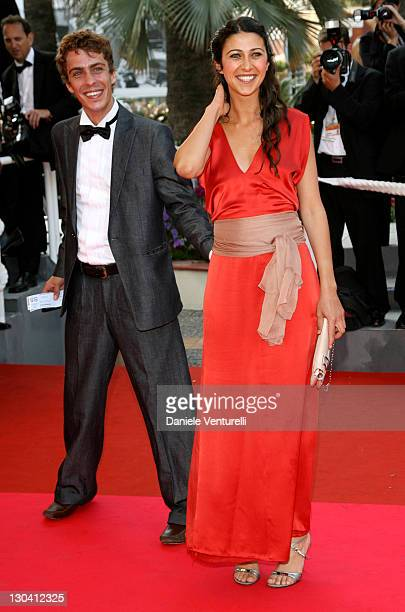 Olivia Magnani and guest during 2007 Cannes Film Festival 'Promise Me This' Premiere at Palais des Festivals in Cannes France