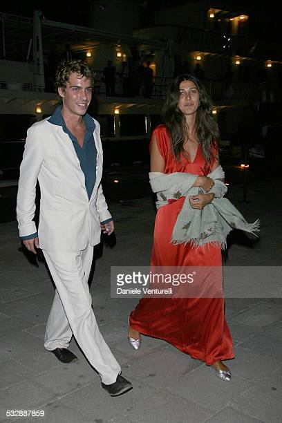 Olivia Magnani and guest during The 63rd International Venice Film Festival Alberta Ferretti's Party in Venice Italy