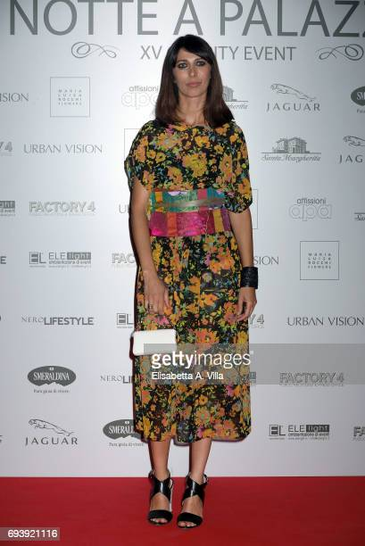 Olivia Magnani attends Anlaids Gala at Palazzo Doria Pamphilj on June 8 2017 in Rome Italy