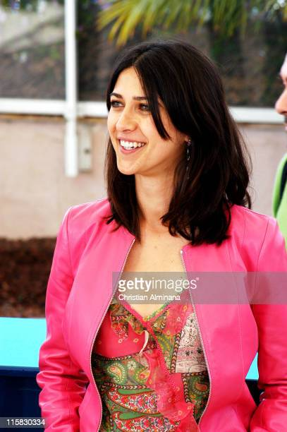 Olivia Magnani during 2004 Cannes Film Festival 'Consequences Of Love' Photocall at Palais Du Festival in Cannes France