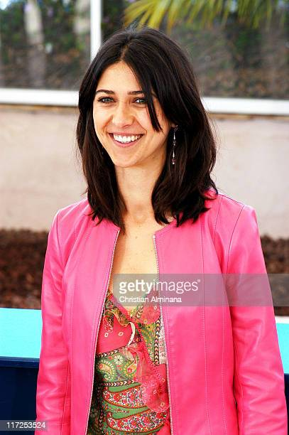 Olivia Magnani during 2004 Cannes Film Festival Consequences Of Love Photocall at Palais Du Festival in Cannes France