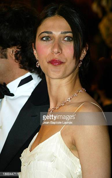 Olivia Magnani during 2004 Cannes Film Festival 'The Consequences Of Love' Premiere at Palais des Festivals in Cannes France